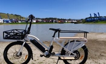 eXcursion Electric Cargo eBike waterfront