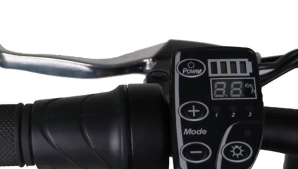 FAT Tire AWD eBike Throttle and Controller