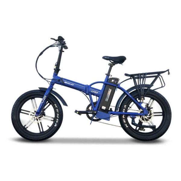 EMOJO LYNX PRO Sport Fat Tire Folding eBike Blue