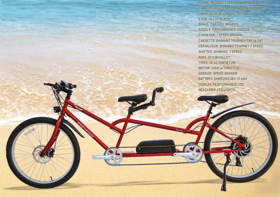 micargi raiatea tandem electric bike
