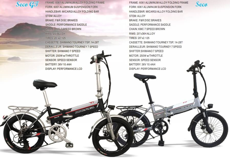 Seco and Seco GT features