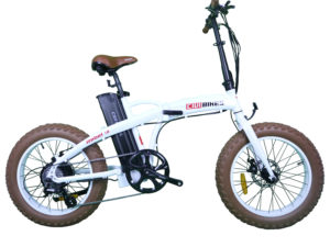 Rebel Folding Fat Tire eBike