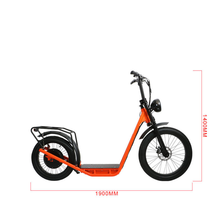 eXcursion 1000W Fat Tire Scooter