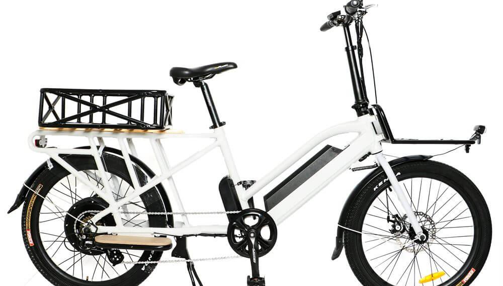 Cargo Max eBike Basket Configured