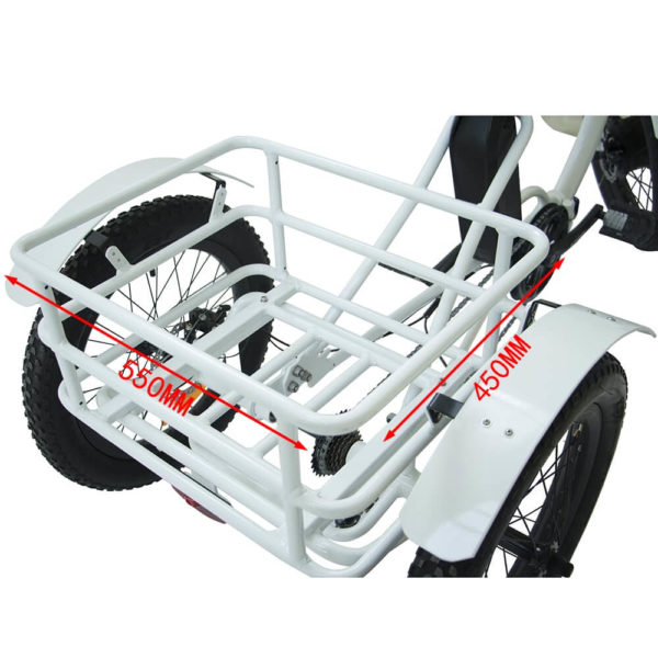 Electric Trike Rear Basket