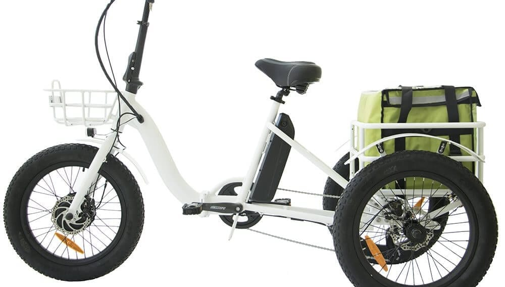 Electric Trike Basket