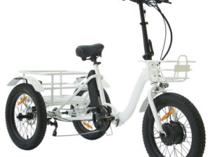 Folding Electric Trike Front Right