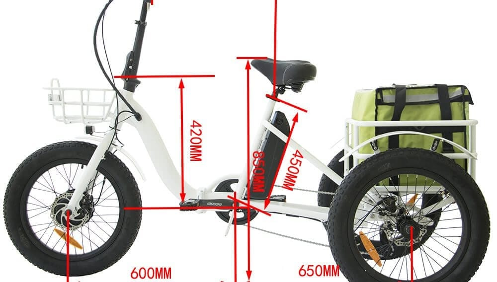 Electric Trike Sizing Chart