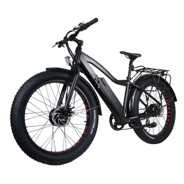 FAT Tire AWD eBike Left Front