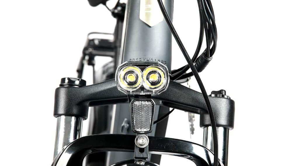 FAT HS HD eBike GRY Headlight