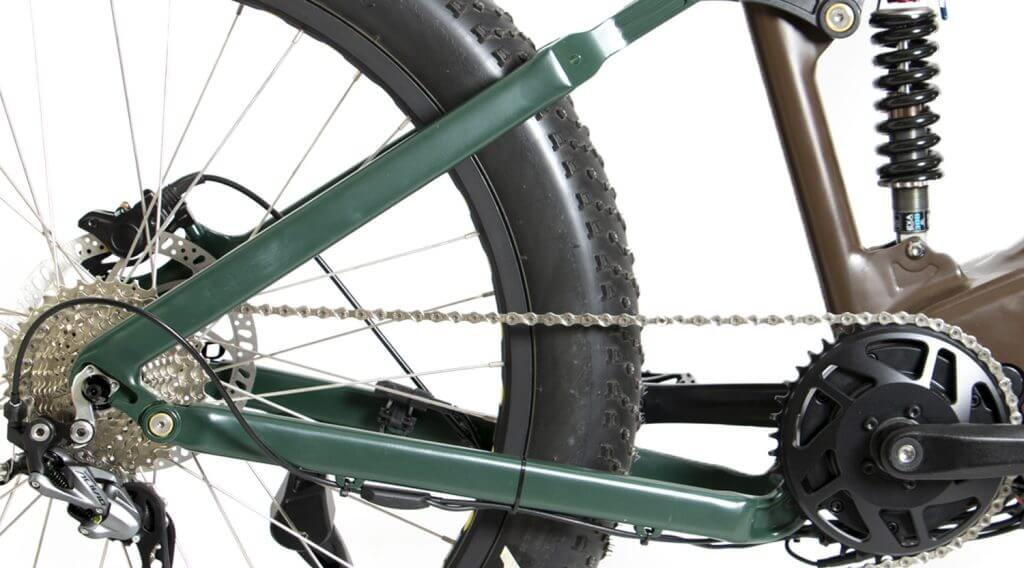 FAT Tire HS 1KW MTB eBike Suspension