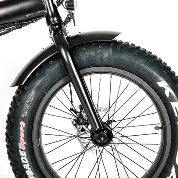 FAT Tire MN 20 eBike Brakes