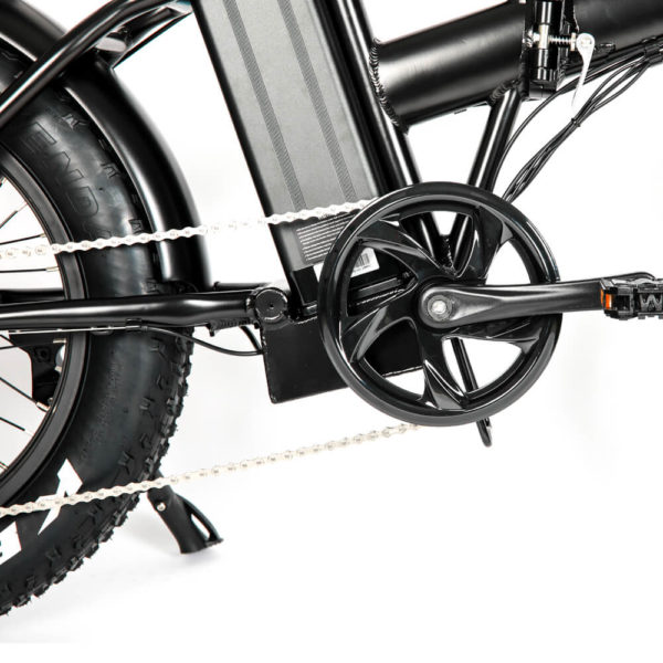 FAT Tire MN 20 Folding eBike Crank