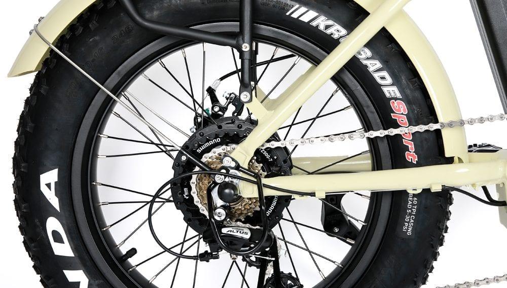 FAT Tire Step 20 eBike Crm Motor