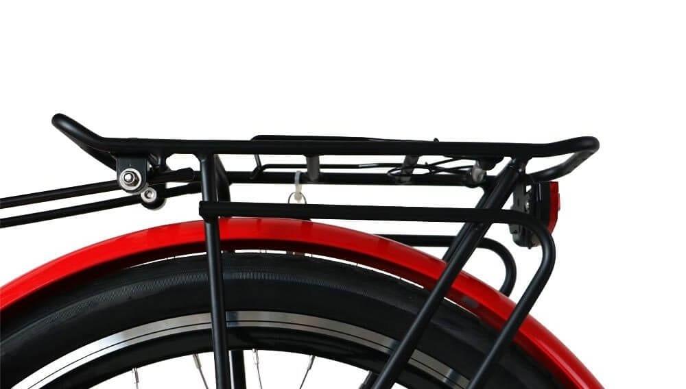 TorQ eBike Red Luggage Rack