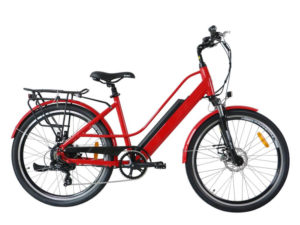 TorQ Cruiser eBike Red Right