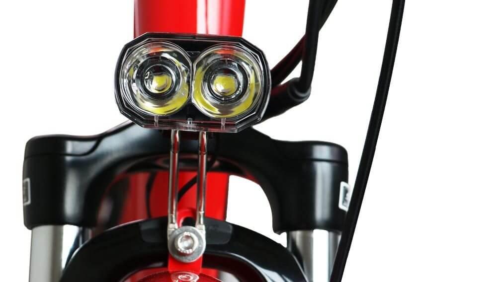TorQ eBike Red Headlight